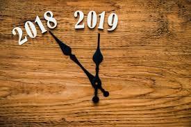 relogio 2018 2019