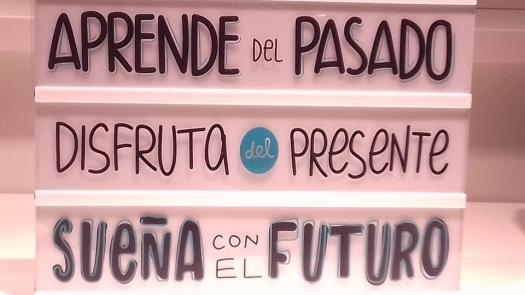 vida passado presente futuro